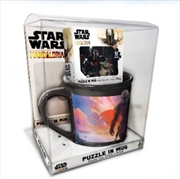 Mandalorian Mug And Puzzle - 63 Piece Puzzle | Merchandise