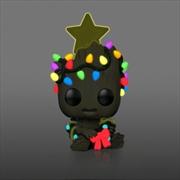 Guardians of the Galaxy: Vol. 2 - Groot Christmas Glow Holiday US Exclusive Pop! Vinyl [RS] | Pop Vinyl