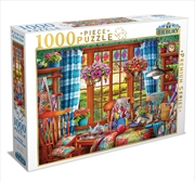 Ye Olde Stitching Room 1000 Piece Puzzle | Merchandise