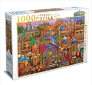 Arabian Street 1000 Piece Puzzle: | Merchandise