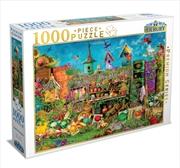 Sunny Garden 1000 Piece Puzzle | Merchandise