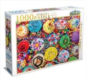 Cupcake Craze 1000 Piece Puzzle | Merchandise