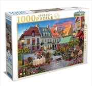 Village Square 1000 Piece Puzzle | Merchandise