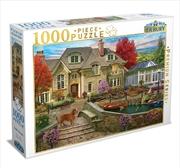 Tudor House 1000 Piece Puzzle: | Merchandise