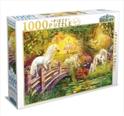 Enchanted Garden Unicorns 1000 Piece Puzzle | Merchandise