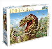 T Rex And Dinosaurs 1000 Piece Puzzle | Merchandise