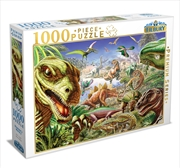 Dinosaurs World 2 1000 Piece Puzzle | Merchandise