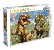 T Rex And Triceratops 1000 Piece Puzzle | Merchandise