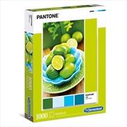 Pantone Lime 1000 Piece Puzzle | Merchandise