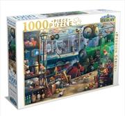 Train Station 1000 Piece Puzzle | Merchandise