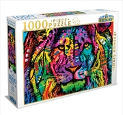 King Of The Jungle 1000 Piece Puzzle | Merchandise
