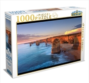 12 Apostles Sunset 1000 Piece Puzzle | Merchandise