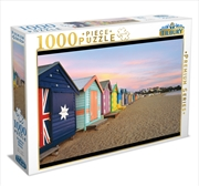 Brighton Beach Boxes 1000 Piece Puzzle | Merchandise