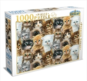 Kitten Collage 1000 Piece Puzzle | Merchandise