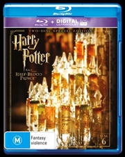 Harry Potter And The Half-Blood Prince - Limited Edition | UV - Year 6 | Blu-ray