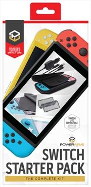 Powerwave Switch Accessory Starter Pack | Nintendo Switch