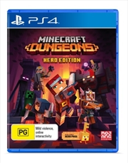 Minecraft Dungeons Hero Edition | PlayStation 4