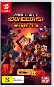 Minecraft Dungeons Hero Edition | Nintendo Switch