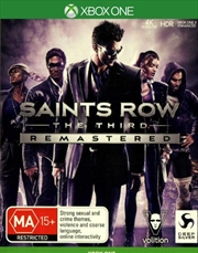 Saints Row The Third Remastered | XBox One