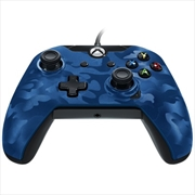 PDP Xbox One Wired Controller Blue Camo | XBox One