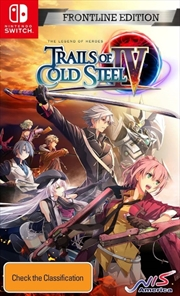 The Legend of Heroes Trails of Cold Steel 4 Frontline Edition | Nintendo Switch