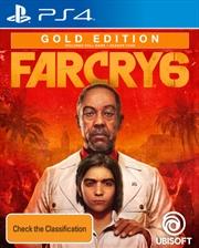 Far Cry 6 Gold Edition   PlayStation 4