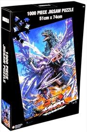 Godzilla - Godzilla vs Megaguirus 1000 piece Jigsaw Puzzle | Merchandise