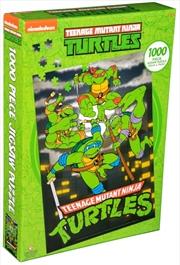 Teenage Mutant Ninja Turtles - Night Sky Turtles 1000 piece Jigsaw Puzzle | Merchandise