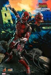 "Marvel Zombies - Deadpool 1:6 Scale 12"" Action Figure | Merchandise"