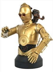 Star Wars - C-3PO & Babu Frik 1:6 Scale Bust | Merchandise