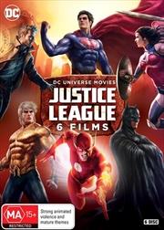 DC Justice League | 6-Film Collection | DVD