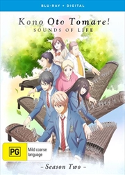 Kono Oto Tomare! Sounds Of Life - Season 2 | Blu-ray