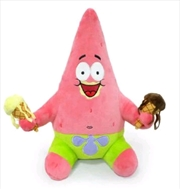 "SpongeBob SquarePants - Patrick with Ice Cream 16"" HugMe Plush 