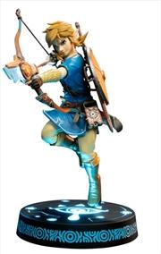 The Legend of Zelda - Link Breath of the Wild Collectors PVC Statue   Merchandise