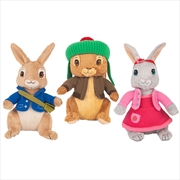 Peter Rabbit  Assorted Plush 22cm - (ONE PLUSH SENT AT RANDOM) | Toy