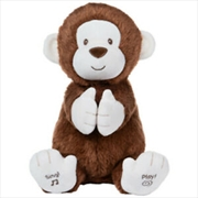 Clappy The Monkey Animated Plush Toy | Toy