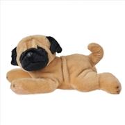 Dog: Henrick Pug Lying 25cm Plush  | Toy