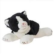 Cat: Rex Black Lying 25cm Plush | Toy