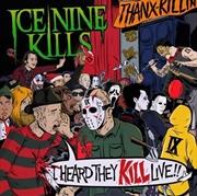 I Heard They Kill Live   CD