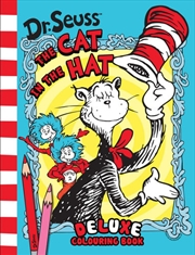 Dr Seuss the Cat in the Hat Deluxe Colouring Book | Colouring Book