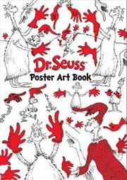 Dr Seuss Poster Art Book | Colouring Book