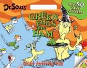 Dr Seuss Green Eggs and Ham Giant Activity Pad | Colouring Book