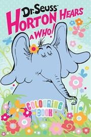 Dr Seuss Horton Hears a Who! Colouring Book | Colouring Book