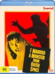 I Married A Monster From Outer Space | Imprint | Blu-ray