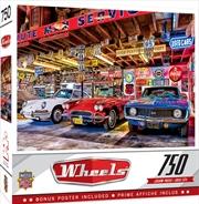 Masterpieces Puzzle Wheels Triple Threat Puzzle 750 Pieces   Merchandise