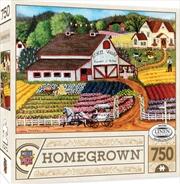Masterpieces Puzzle Homegrown Fresh Flowers Puzzle 750 Pieces   Merchandise