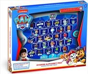 Paw Patrol Ryders Alphabet Pad | Toy