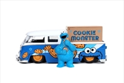Sesame Street - '63 VW Bus w/Cookie Monster 1:24 Scale Hollywood Ride | Merchandise