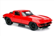 Fast and Furious 8 - '66 Chevy Corvette 1:24 Scale Hollywood Ride | Merchandise