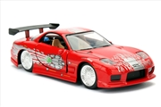 Fast and Furious - Dom's Mazda RX-7 1:32 Scale Hollywood Ride | Merchandise